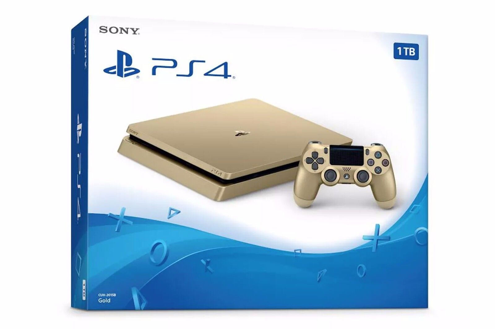 Limited Edition PlayStation 4 1TB Console - GOLD [Sony PS4 Hardware System] NEW