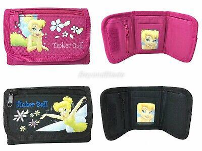 Disney Tinkerbell Portafogli Set Di 2 Bambini Fumetto Per Portamonete Giada Bianca