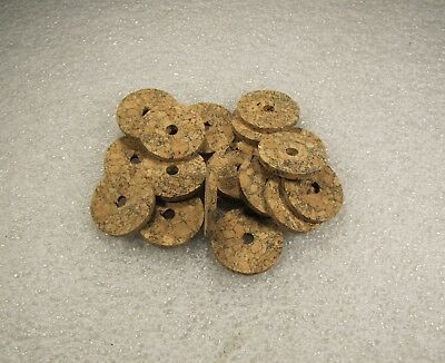 "pcs Pleasant To The Palate Cork Ring Brown Burl 1/8"" X 1.25 X 1/4 4"