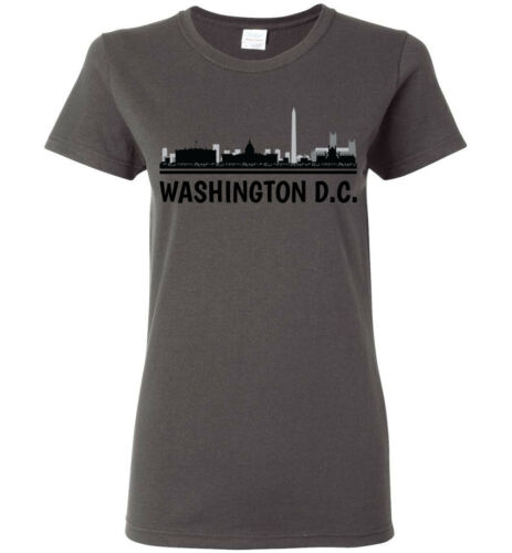 Washington DC Skyline T-Shirt Men Women Youth Tank Long Sleeve Personalized Tee