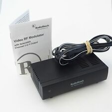 RF MODULATOR 15-1244 A AV Adapter Converter w/Manual RADIO SHACK