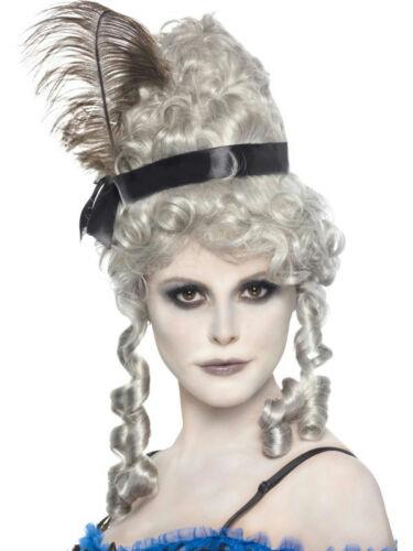 Women/'s Ghost Town fantomatiques Gris Saloon Perruque
