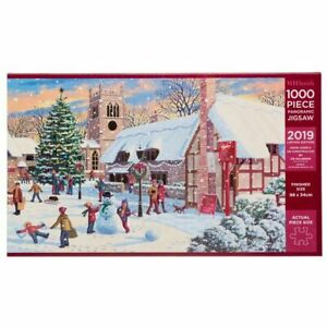 WHSmith-Snow-Angels-on-Christmas-Eve-1000-Piece-Panoramic-Limited-Edition-Jigsaw