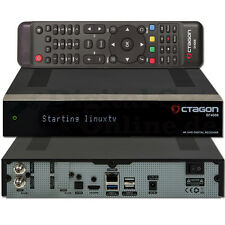 â–º Octagon SF4008 Triple 4K 2x DVB-S2X E2 TWIN Linux UHD Receiver NEU OVP