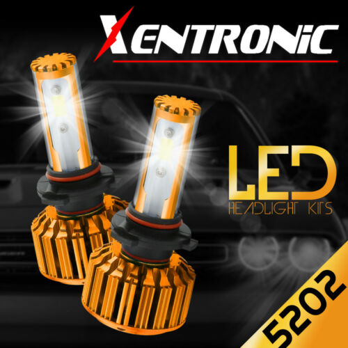 XENTRONIC 5202 LED Fog Light Kit Chevrolet Silverado 1500 2008-2014 6000K 488W