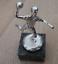 Indexbild 3 - Handball Spieler Pokal in Silber Farbe auf Marmorsockel - Metall