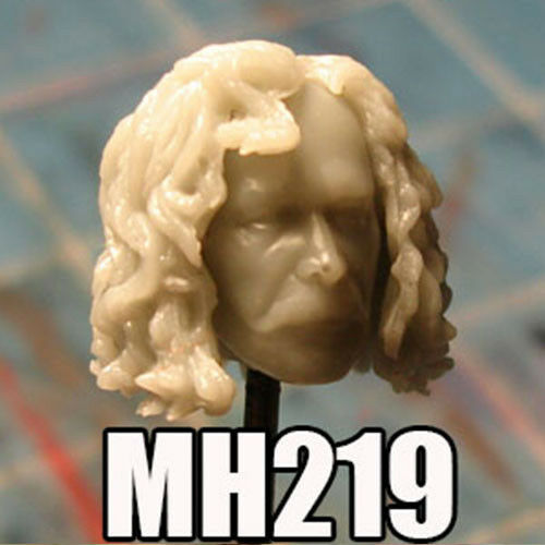 "MH219 Custom Cast Sculpt part Male head cast for use with 3.75/"" action figures"