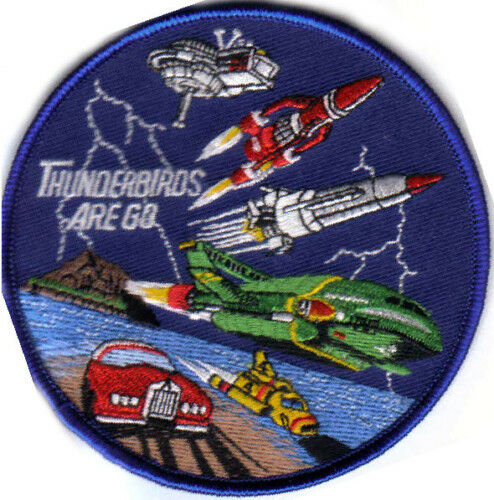 THUNDERBIRDS RARE IRON ON OR SEW ON  PATCH BUY 2 GET 3