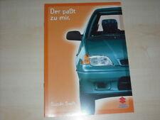 44421) Suzuki Swift Prospekt 08/1997