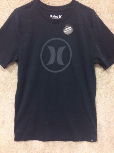 "DriFit /"" Black Hurley Men/'s T-Shirt /""Circle Icon"