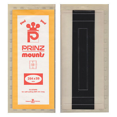 PRINZ MOUNTS - #59 X  264MM - BLACK          FREE SHIPPING       #PZMT-59B