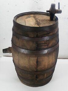 Vintage-Whiskey-Keg-Barrel-with-Spigot-Primitive-Wedding-Decor-Adorable