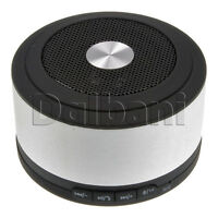 Silver Portable Bluetooth Speaker For Ipod Iphone Tab Android