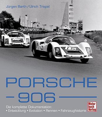 Enthousiast Porsche 906 (technische Daten Homologation Carrera 6 Le Mans Daytona) Buch Book