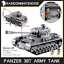 Army-Tank-Vehicles-1711-Panzer-USA-German-Building-Block-Toy-Compatible-Jeep-Kid thumbnail 10