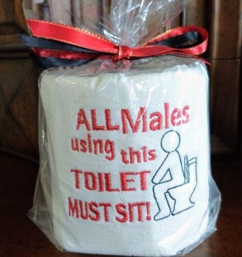 Retirement Birthday White Elephant,Party Fun Toilet Paper Gag Gift Christmas