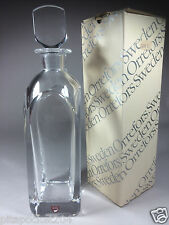 Orrefors Crystal Decanter New in Box