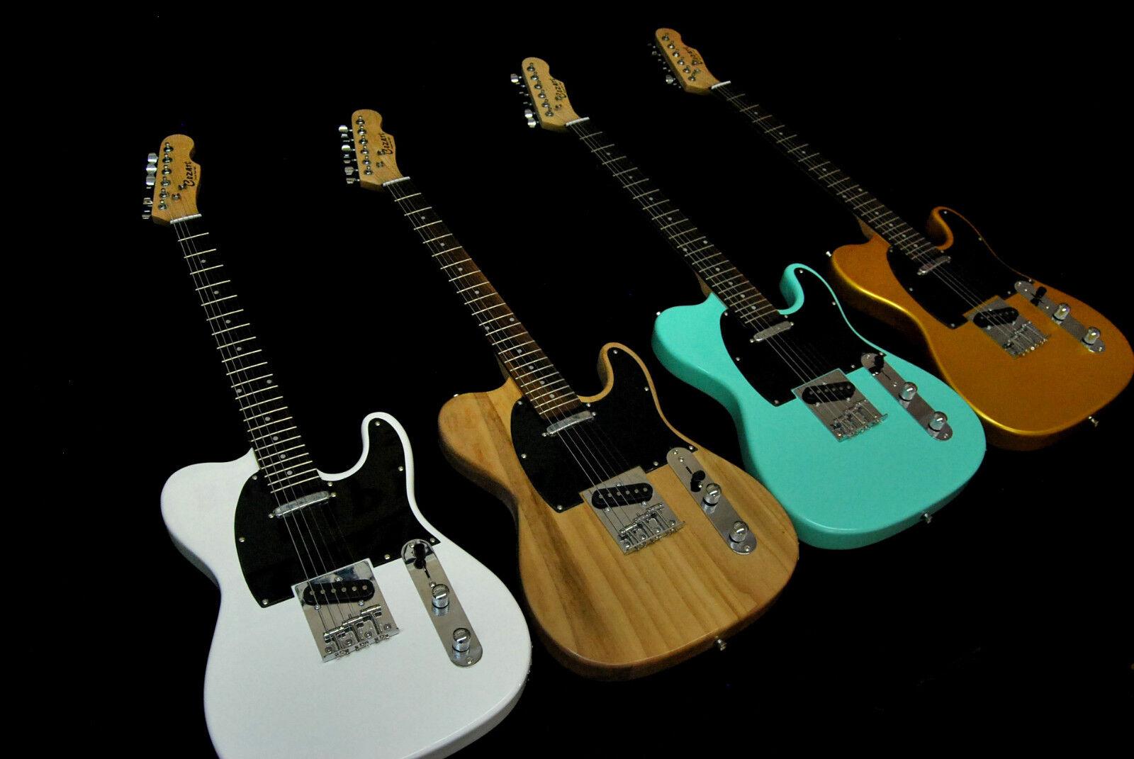 you pick color tele style 6 string electric guitar gold seafoam green burst ebay. Black Bedroom Furniture Sets. Home Design Ideas