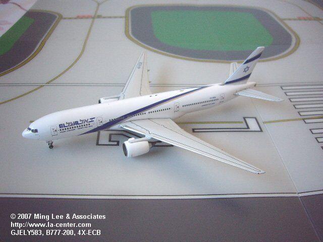 para mayoristas Gemini Jets El Al Israel Airlines Boeing 777-200 Modelo Modelo Modelo Diecast libres de impuestos 1 400  venta