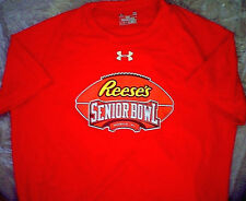 Under Armour Heat Gear Reese's Senior Bowl Athletic T-Shirt L college football