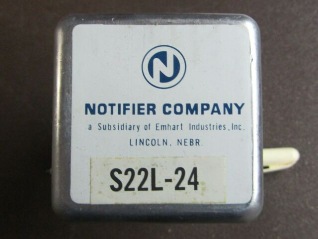 NOTIFIER Company Plug-in Relay S22l-24 S22l24