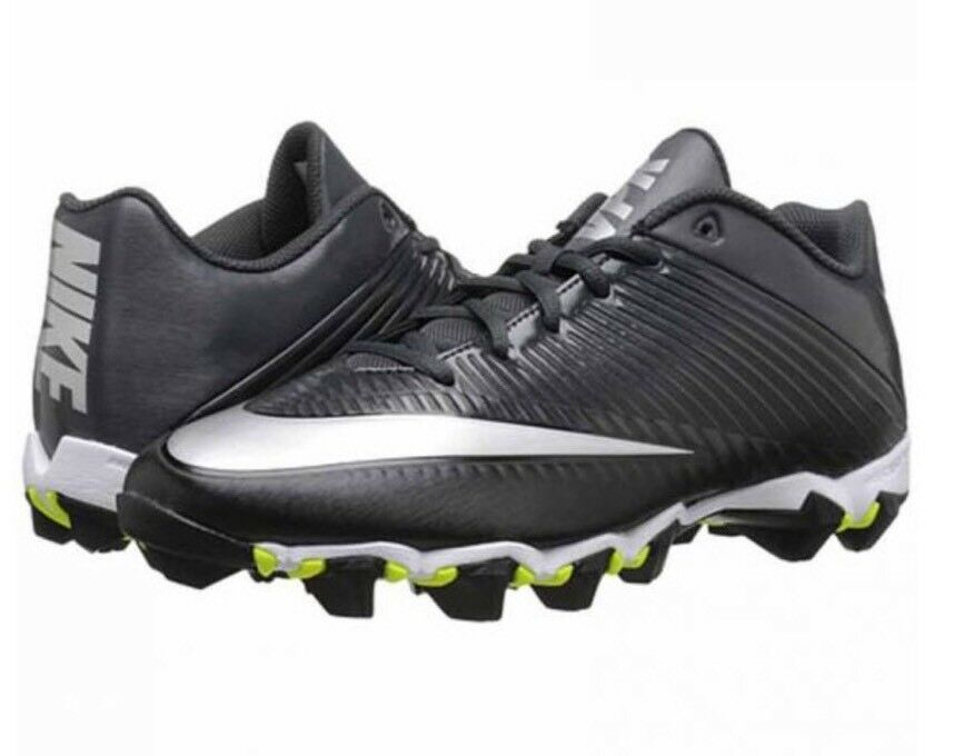 Nike Vapor VPR 10.5 Shark 2 Football Cleats Men's Anthracite Silver 833391-002