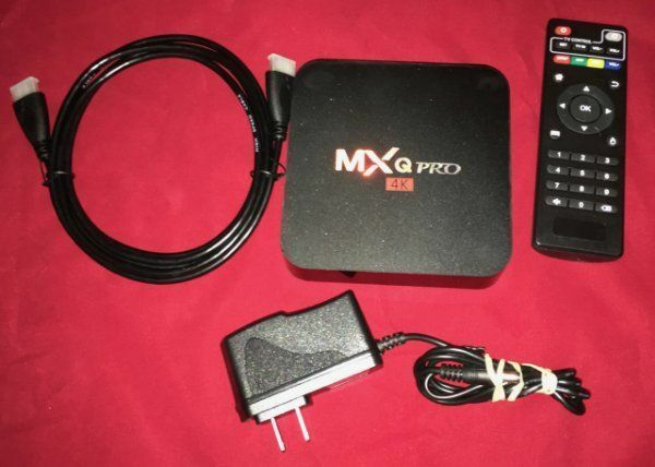 NEW MXQ PRO TV Box Streaming Media Player Box 4K Android Lollipop S905 Quad Core