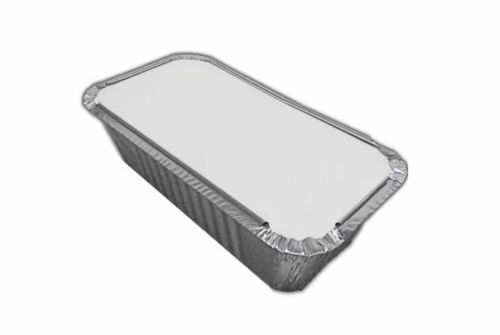 No 6a ALUMINIUM FOIL FOOD CONTAINERS LIDS No 2 TAKEAWAYS OR HOME USE