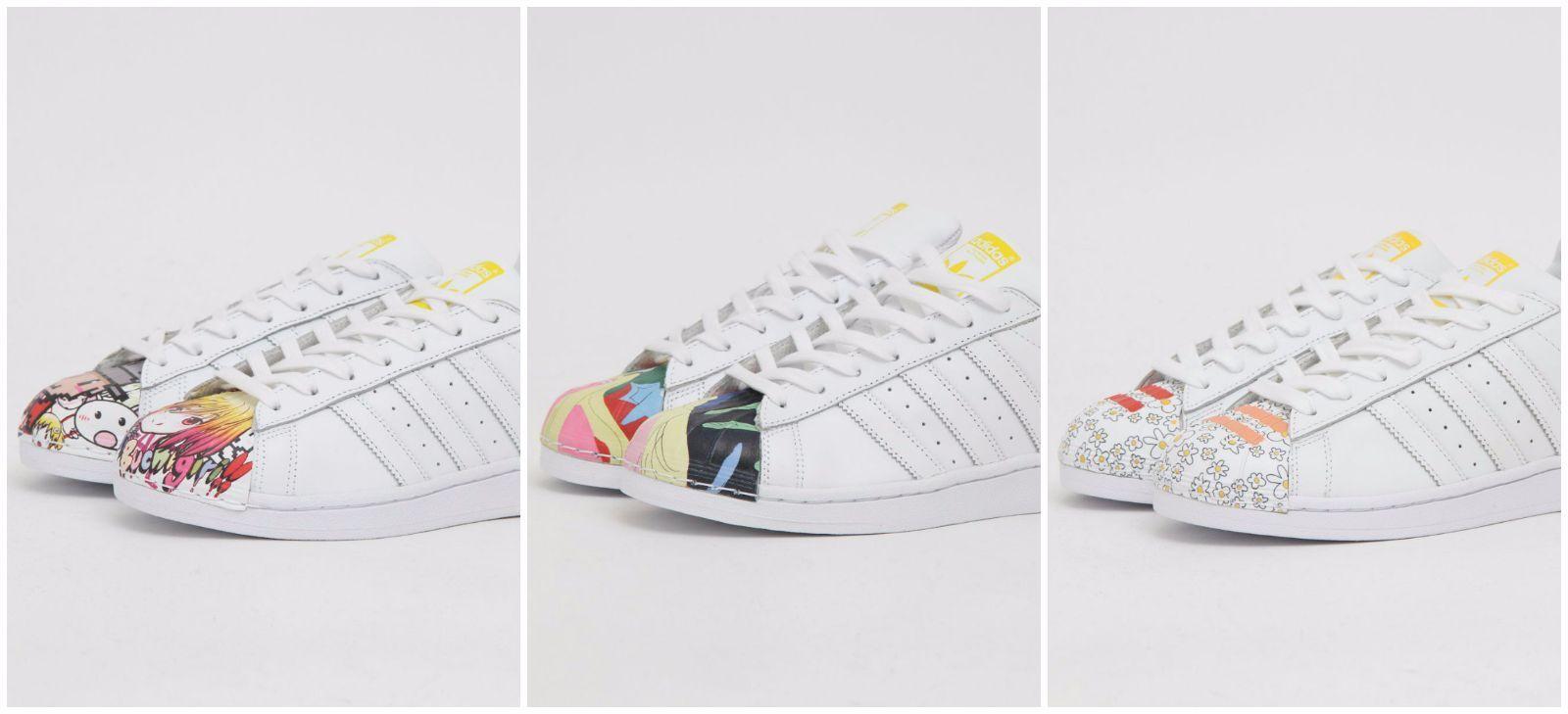 Adidas Originals Pharrell Superstar Pharrell Originals supershell Zapatos De Cuero Nueva a6745b
