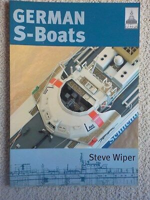 Shipcraft No.6 German S Boats by Steve Wiper Navy Military book