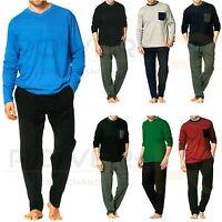 Herren Schlafanzug Pyjama 100 % Baumwolle in Gr. S M L XL XXL NEU & OVP !!