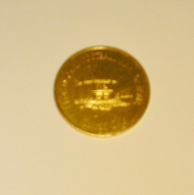 Vintage Professional Football Hall Fame Mayor Stanley Cmich Token Coin Medal NFL