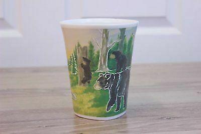 ADVENTUROUS BLACK BEAR Think Pray Gift Color Changing Mug TPG-M-1728