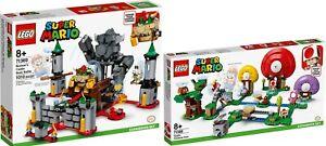 LEGO-Super-Mario-71369-Bowsers-Festung-71368-Toads-Schatzsuche-VORVERKAUF-N8-20