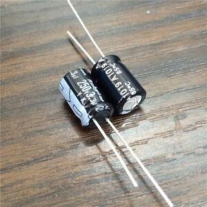 50pcs 3.3uF 400V Rubycon PX 8x11.5mm 400V3.3uF Aluminum Electrolytic Capacitor