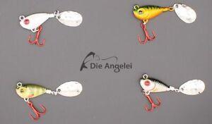 Profi Blinker Spinner Jig, 7 Gramm, 3 Varianten für die UL Fischerei auf Barsch