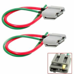 Details About 2pakc Hei Distributor Wire Harness Pigtail Dual 12v Power And Tach Connector Usa