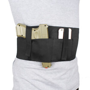 Gun-Holster-Concealed-Carry-Belly-Band-Holster-with-Magazine-Pouch-For-Glock