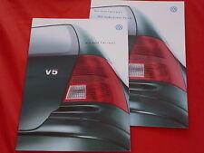 VW Bora Variant Basis Trendline Comfortline Highline V6 4MOTION Prospekt 2000