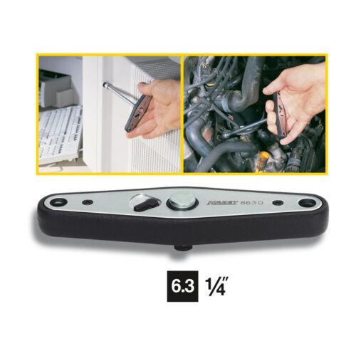 100.0 mm HAZET 863Q Reversible ratchet with T-handle