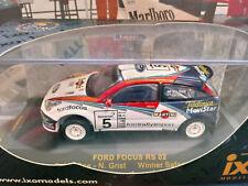 Ford Set 2X Focus Wrc #3 Winner Rally 2008 IXO 1:43 F03MC243 Model