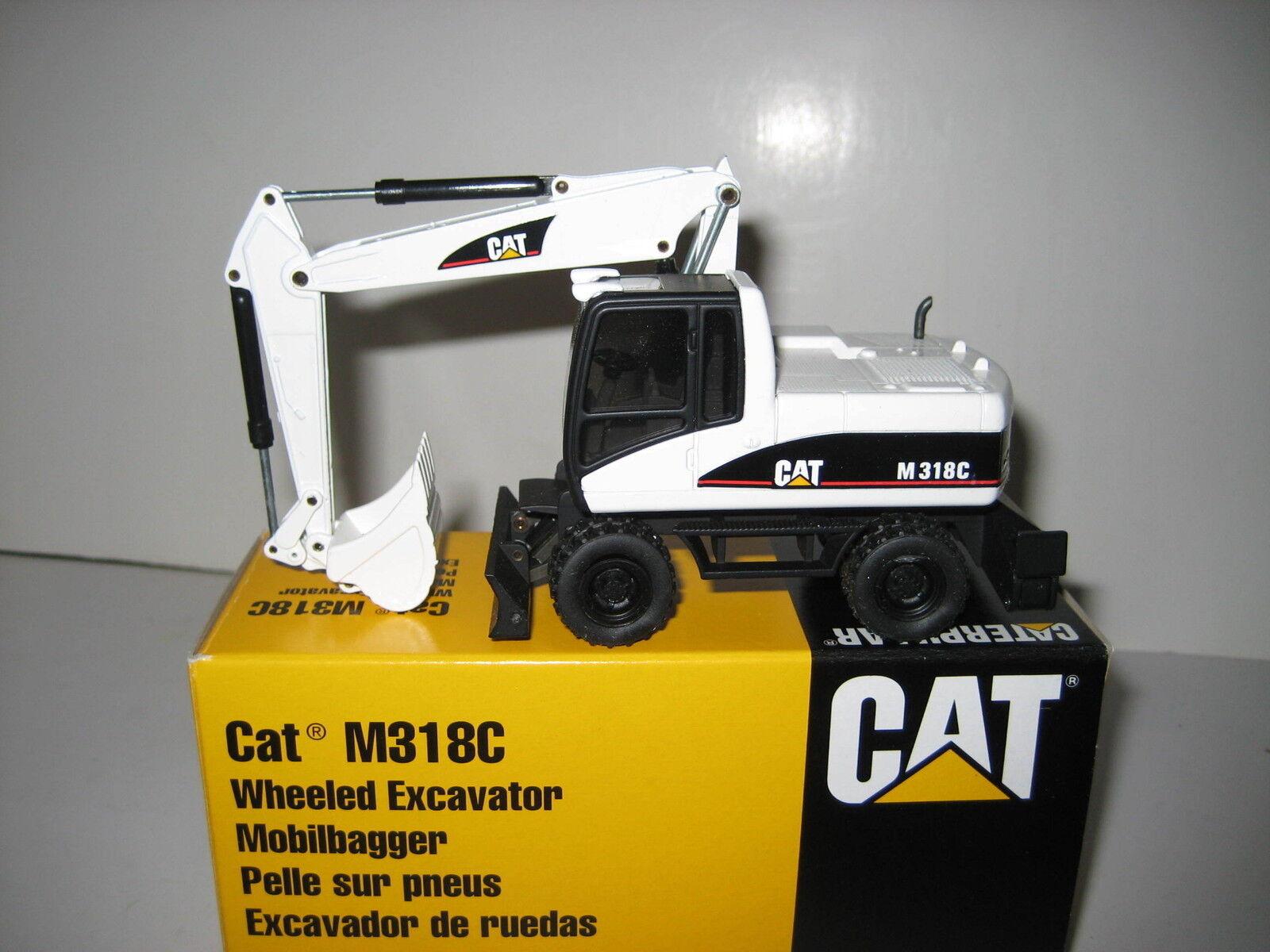 Caterpillar M 318 C Excavateurs tieflöffel Blanc  516.2 NZG 1 50 neuf dans sa boîte