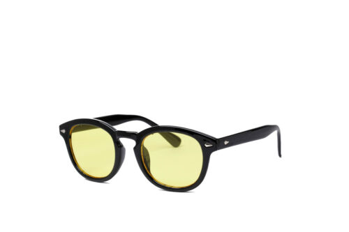 Retro Color Tinted Lens Outdoor Fashion Round Eyeglases Sunglasses