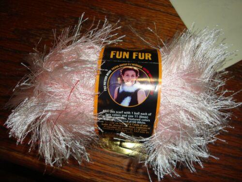 Lion Brand Yarn Fun Fur Approximately 1 3//4 oz Skein NEW