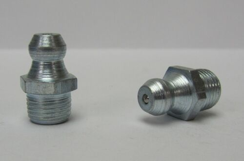 M8 x .75mm Straight Metric Grease Zerk Nipple Fitting 5 pcs