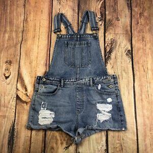 Forever 21 Jean General Envejecido Shorts Para Mujeres Tamano 30 Pantalones Cortos De Mezclilla En General Ebay