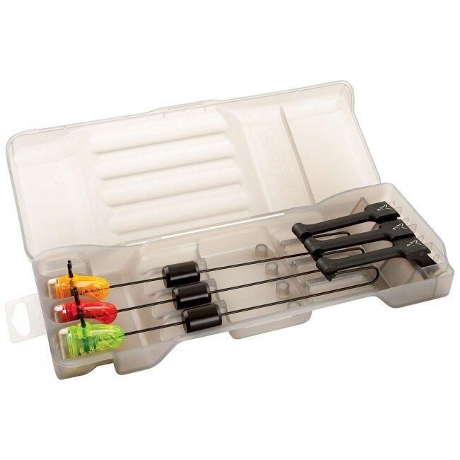 Fox Mikro Swinger 3-Stab Set / rot Orange grün/Karpfenangeln /CSI040