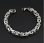 Silber-Kette-Armband-dick-8MM-breit-Edelstahl-Panzerkette-Rapper-HipHop-Herren Indexbild 1