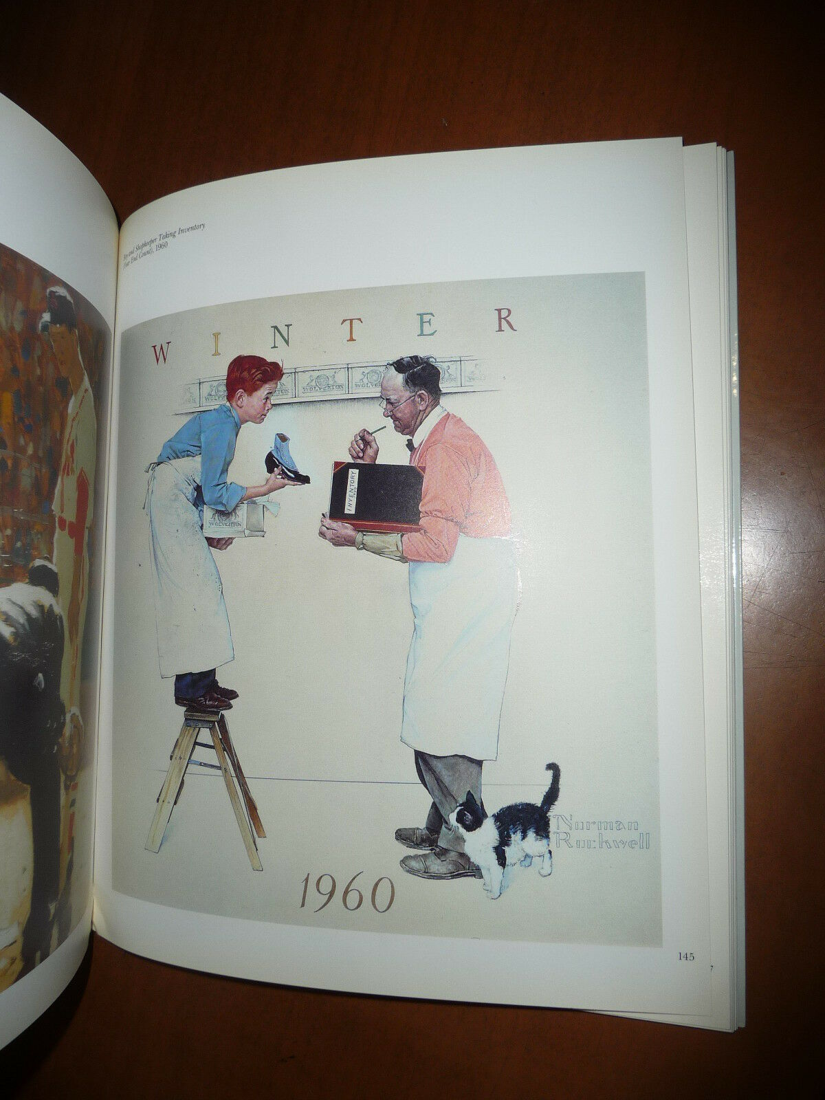 NORMAN ROCKWELL JUDY GOFFMAN 1990 ARTE CATALOGO COPERTINE SATURDAY EVENING POST