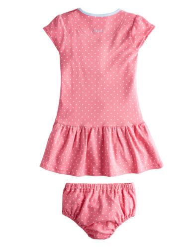 *BNWT* Baby Joules Josie Dress /& Pants Set Raspberry Pink Spot Pretty Soft Cute